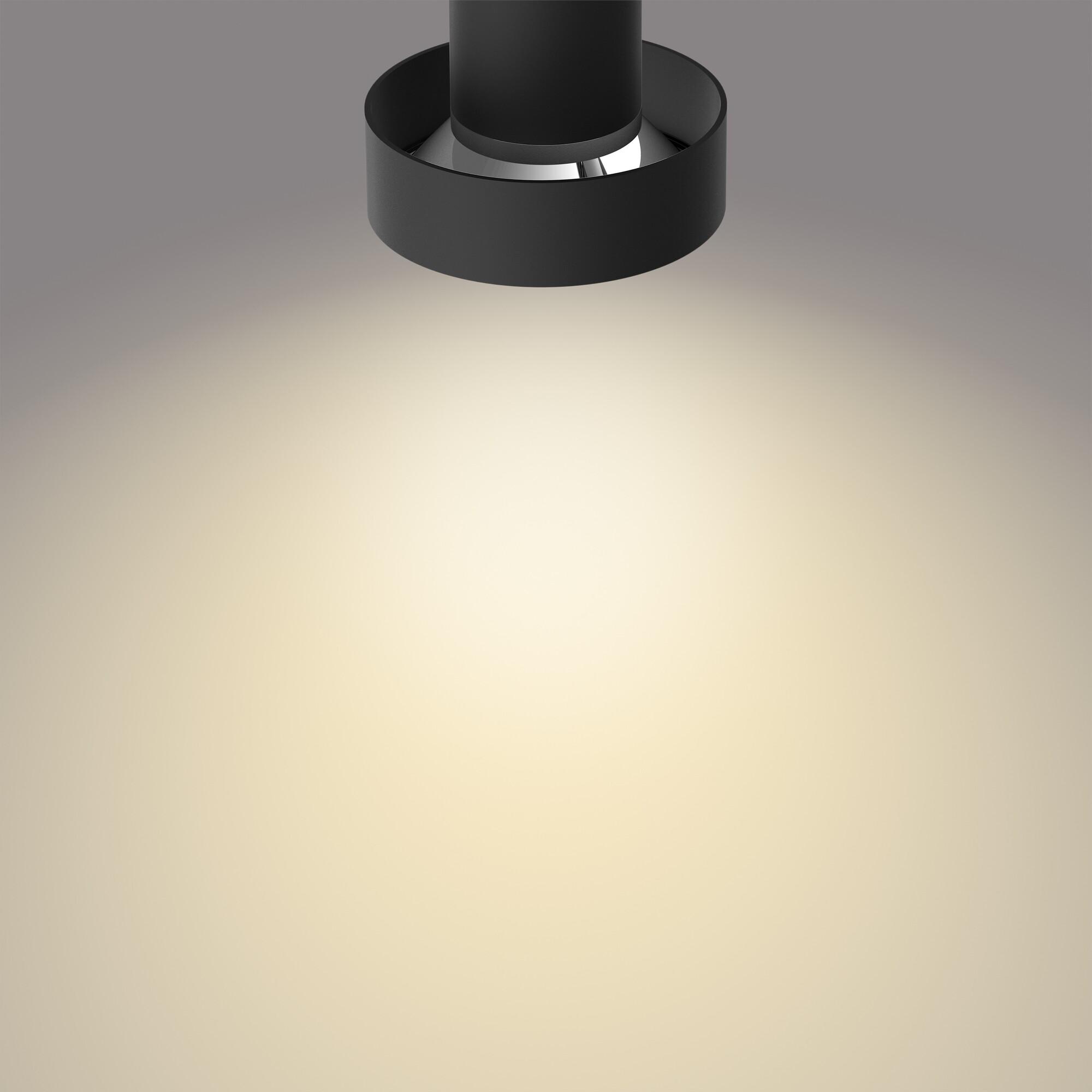 Philips BUKKO Opbouwspot LED 3x4,3W/430lm Zwart