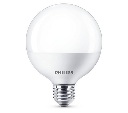 Philips LED E27 9,5W 806lm 2700K Globe Frosted