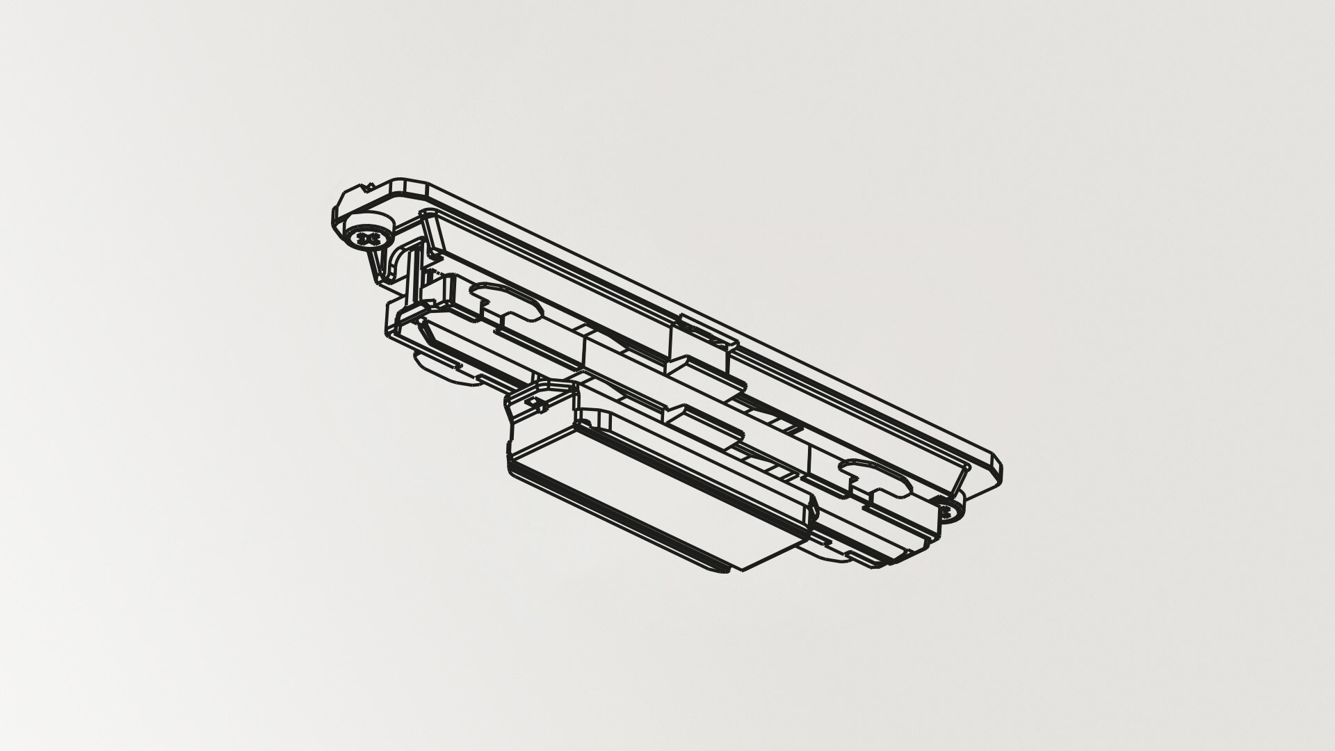 Contact joint 1 fase rail Wit