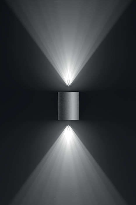 Philips CISTUS Wandlamp LED 2x5W/500lm Lichtgrijs