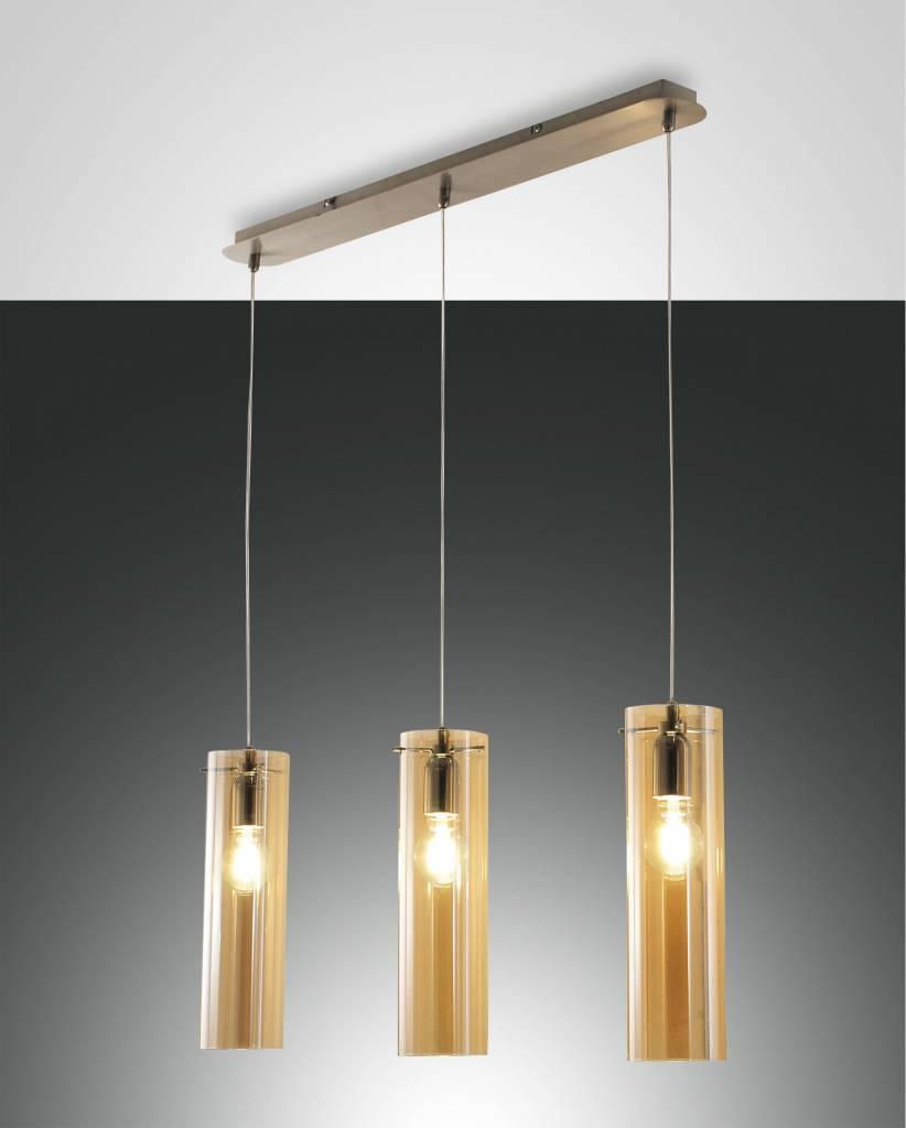 SINTESI Hanglamp E27 3x Goud