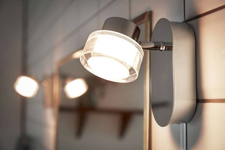 Philips RESORT Opbouwspot LED 1x5W/500lm Ovaal Lichtgrijs