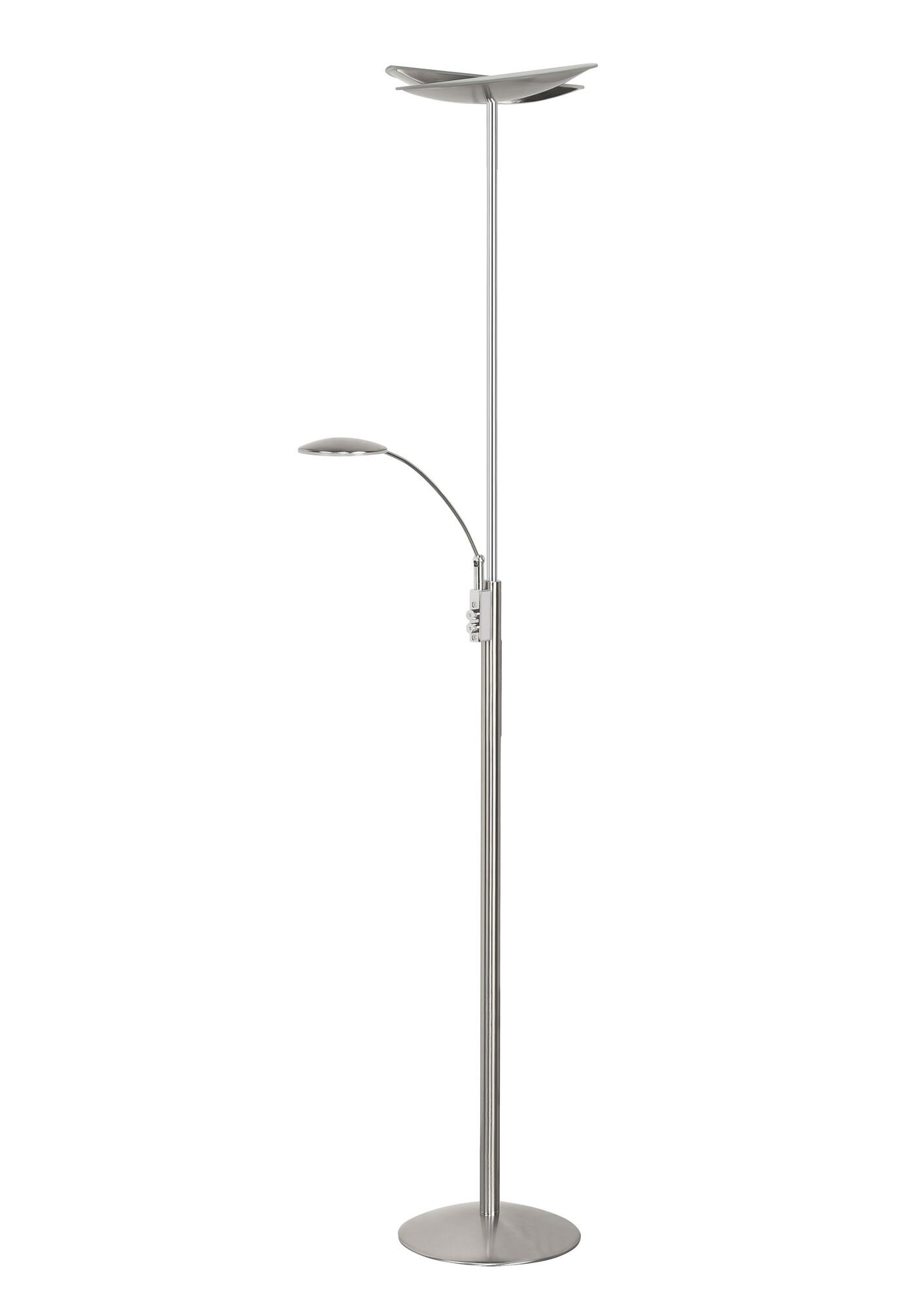 SAPPORO Lampadaire LED 2x24W/2800lm Argent