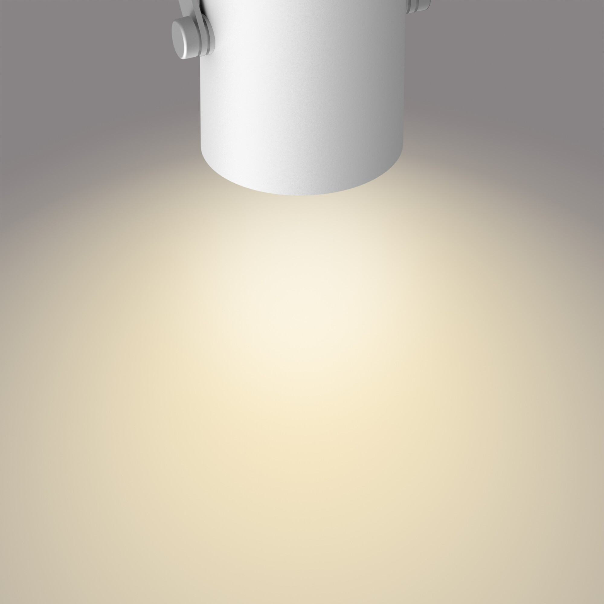 Philips BYRE Opbouwspot LED 1x4,3W/430lm Wit