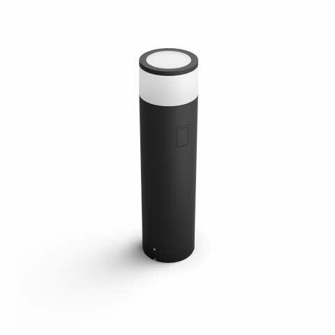 Philips HUE CALLA Poteau extérieur LED 1x8W/600lm Noir
