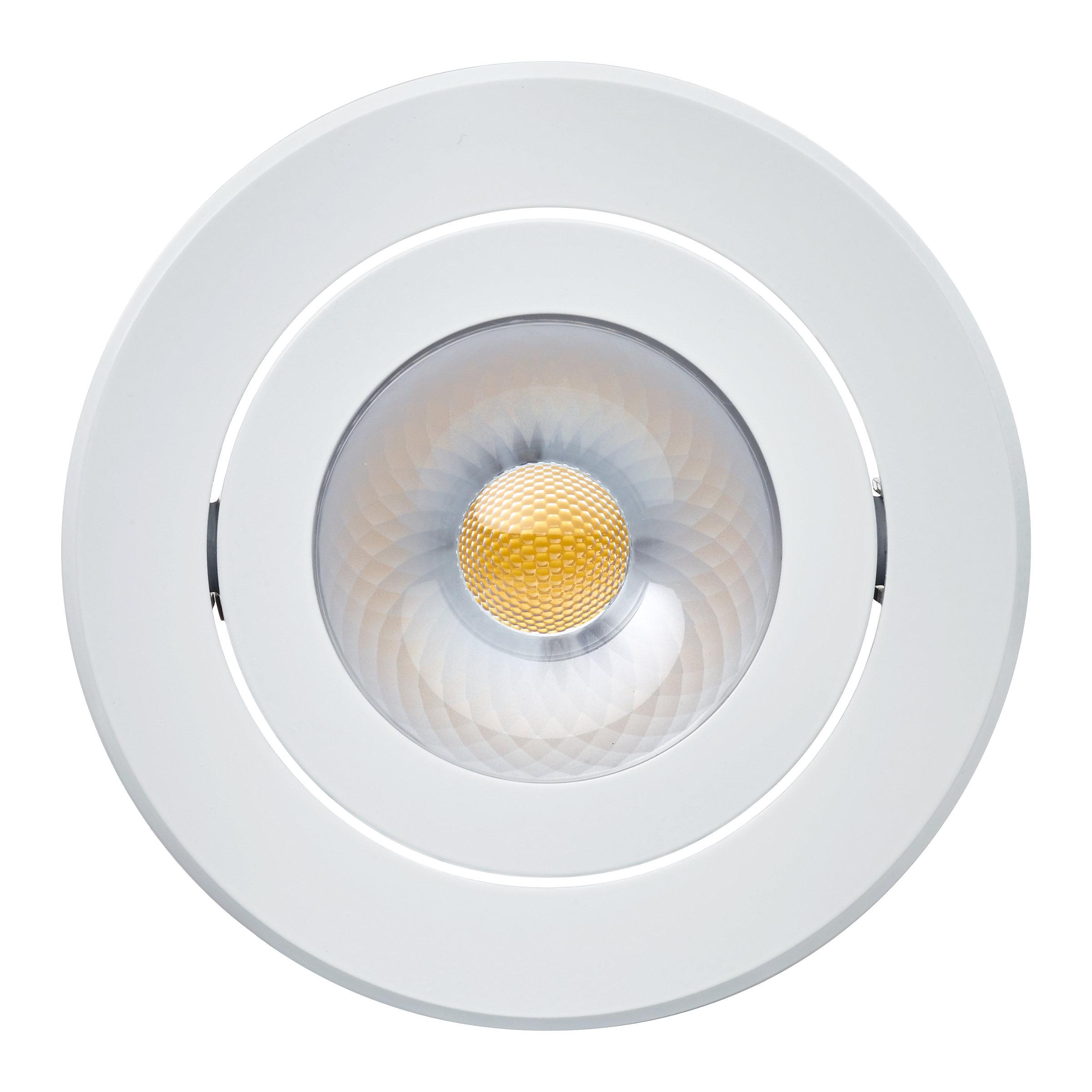 Philips CORELINE Inbouwspot LED 1x8W/650lm Rond Wit