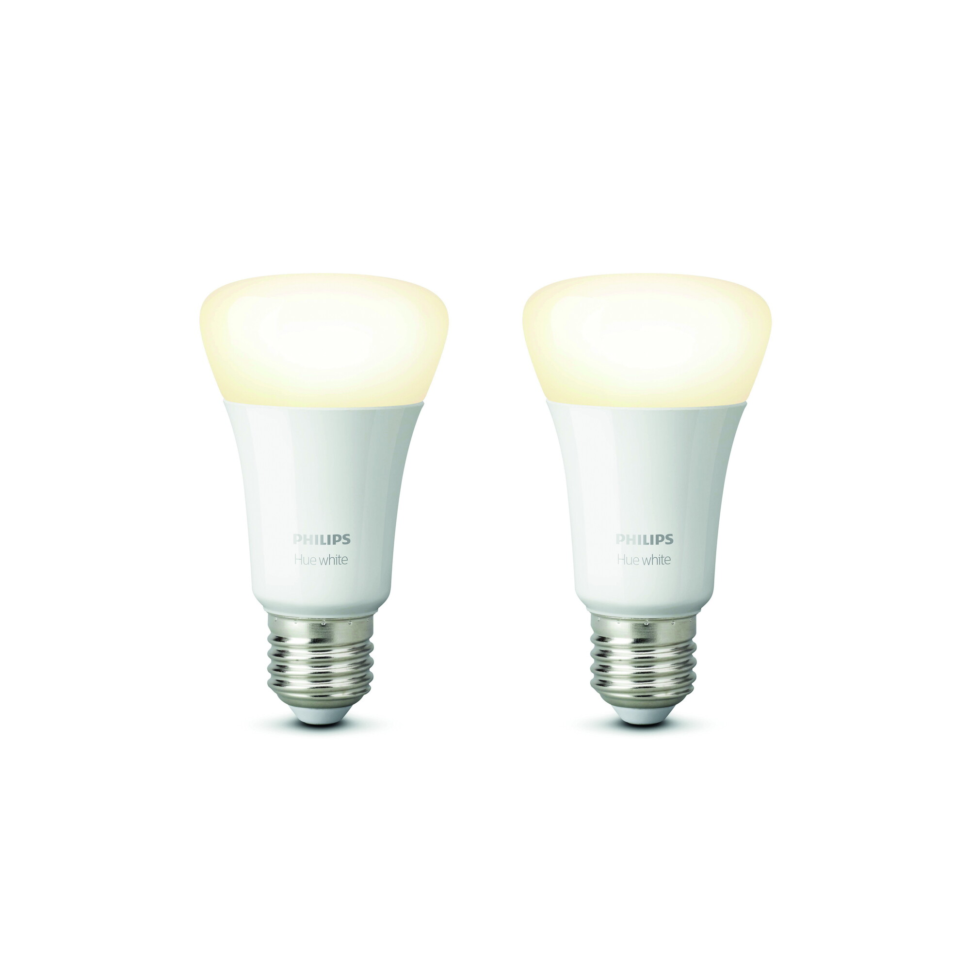 Philips HUE White E27 9W 806lm 2700K Ampoule Opaque