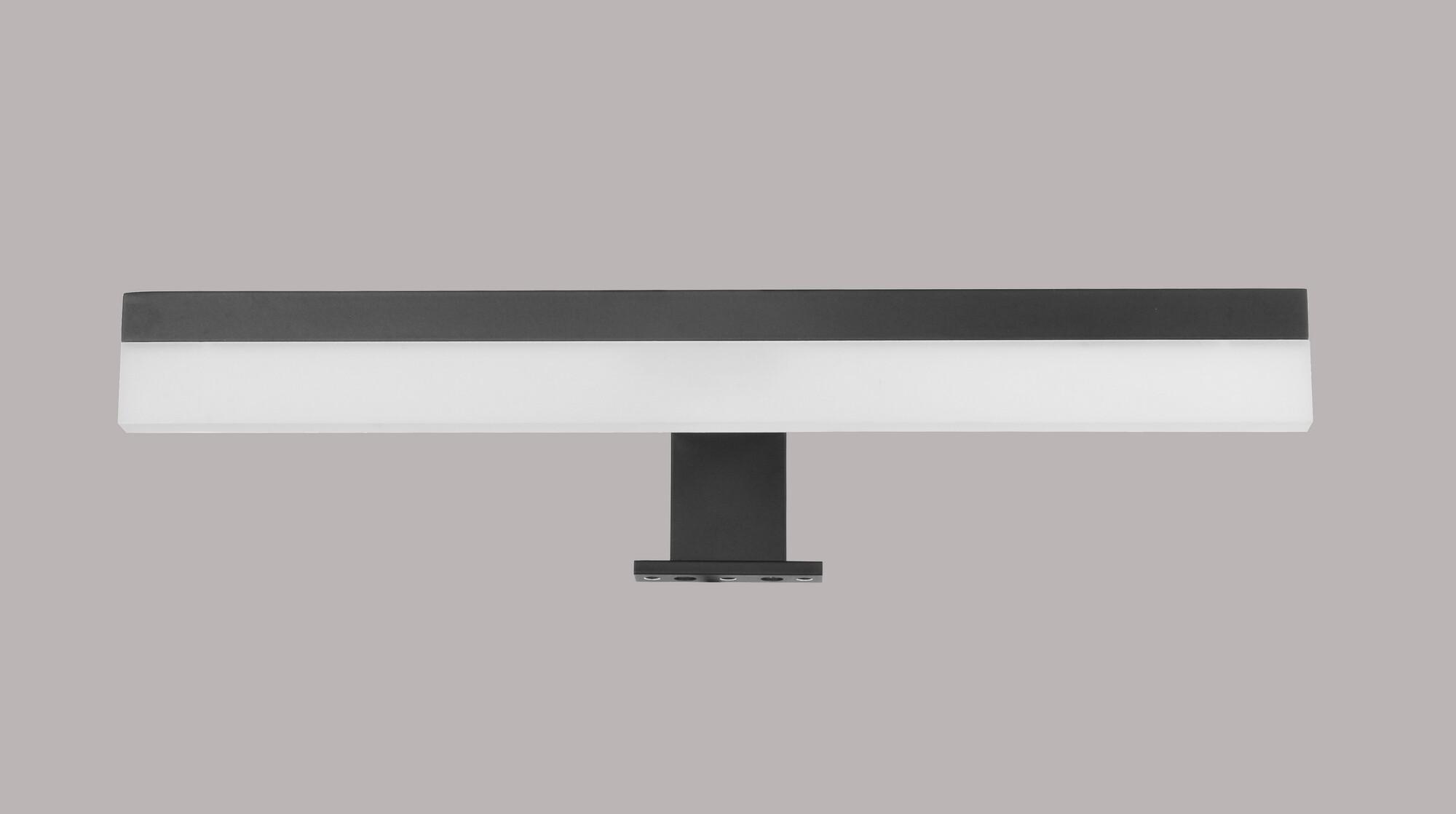 DECADE Wandlamp LED 1x70W/574lm Rechthoekig Zwart