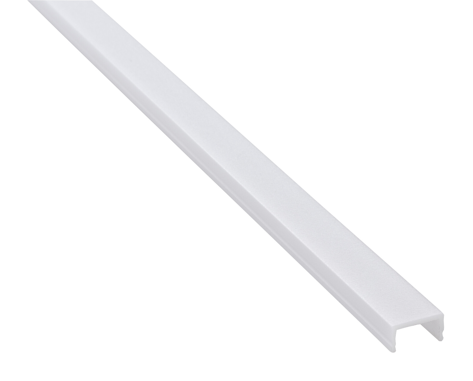 Plexi diffusor voor in/opbouw LED profiel