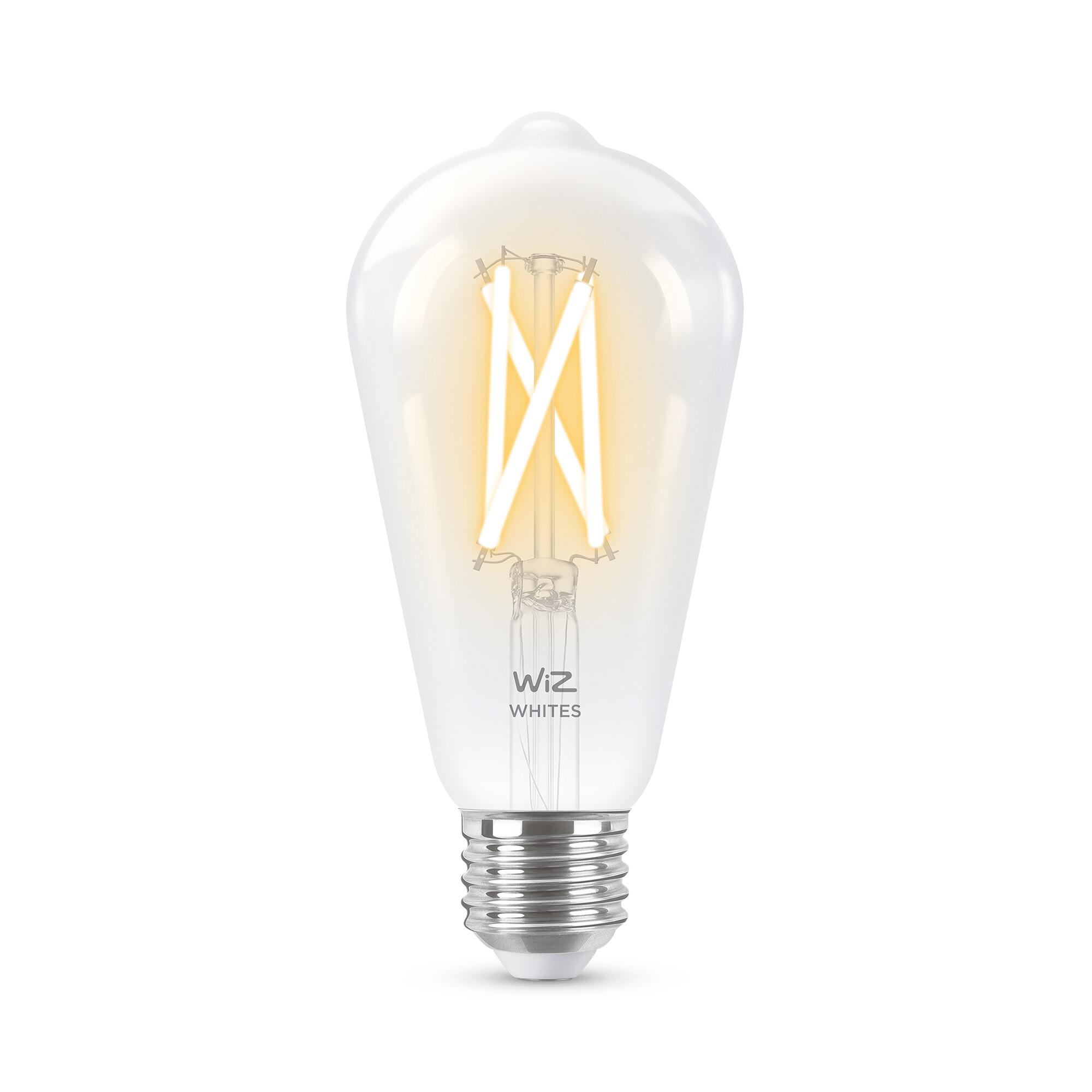WiZ E27 60W 806lm 2700K Edison Transparant