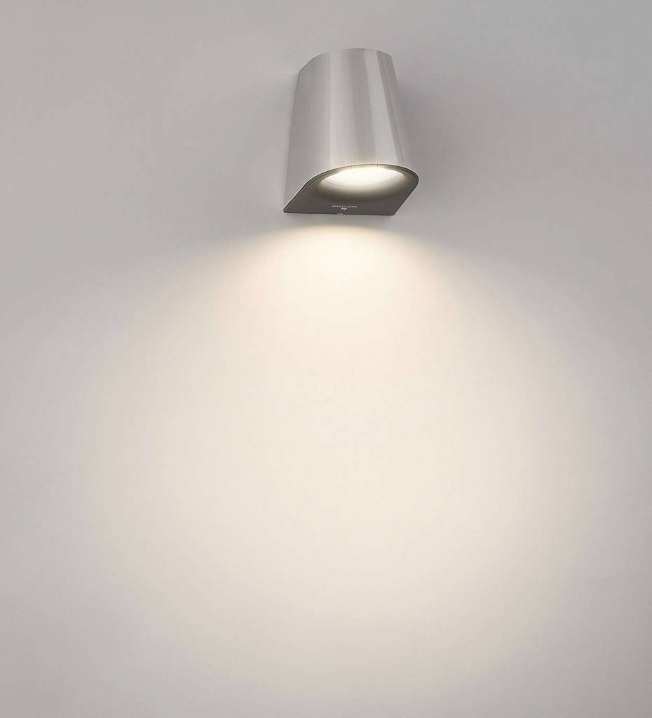 Philips VIRGA Wandlamp LED 1x3W/270lm Lichtgrijs