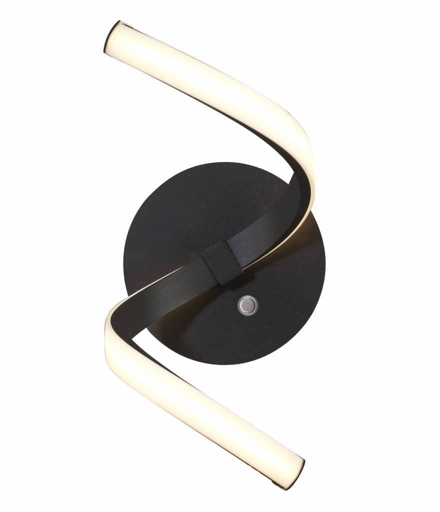 NUR Wandlamp LED 1x 850lm Bruin