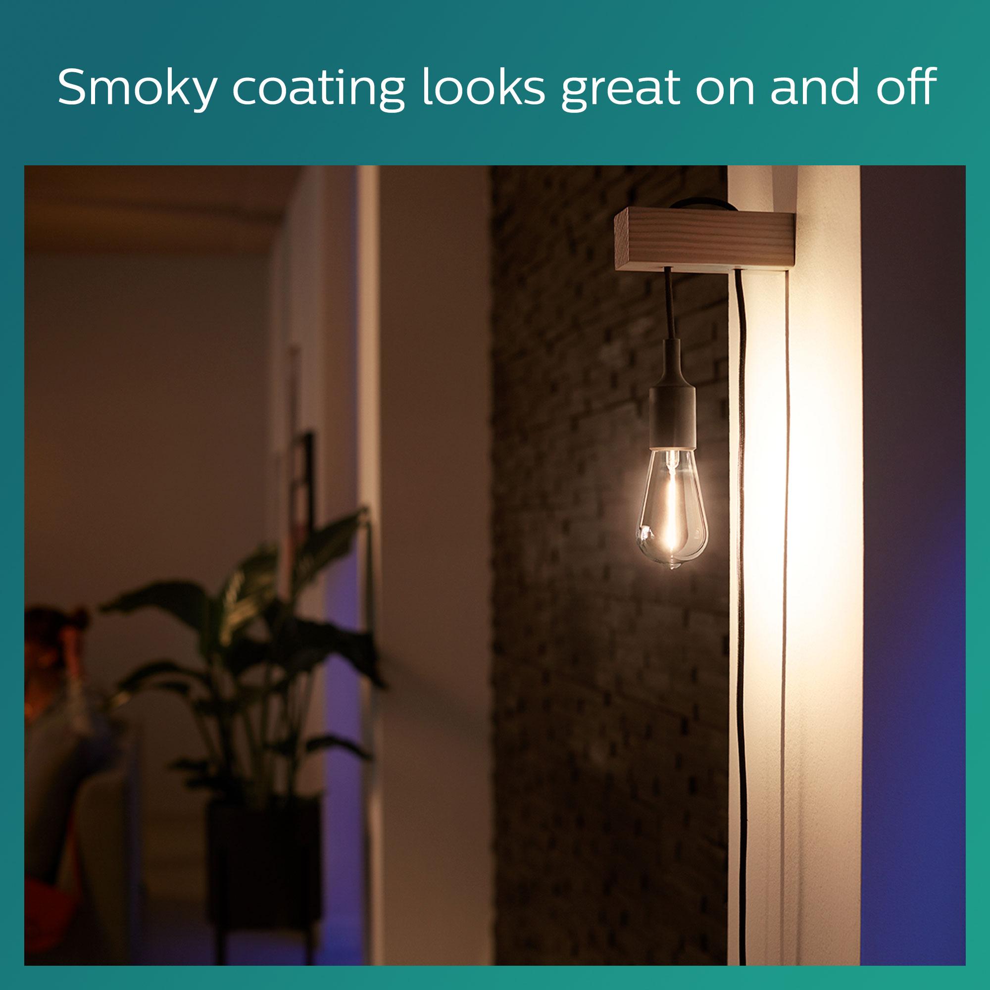 Philips LED classic E27 2,3W 100lm 1800K Edison Gefumeerde coating