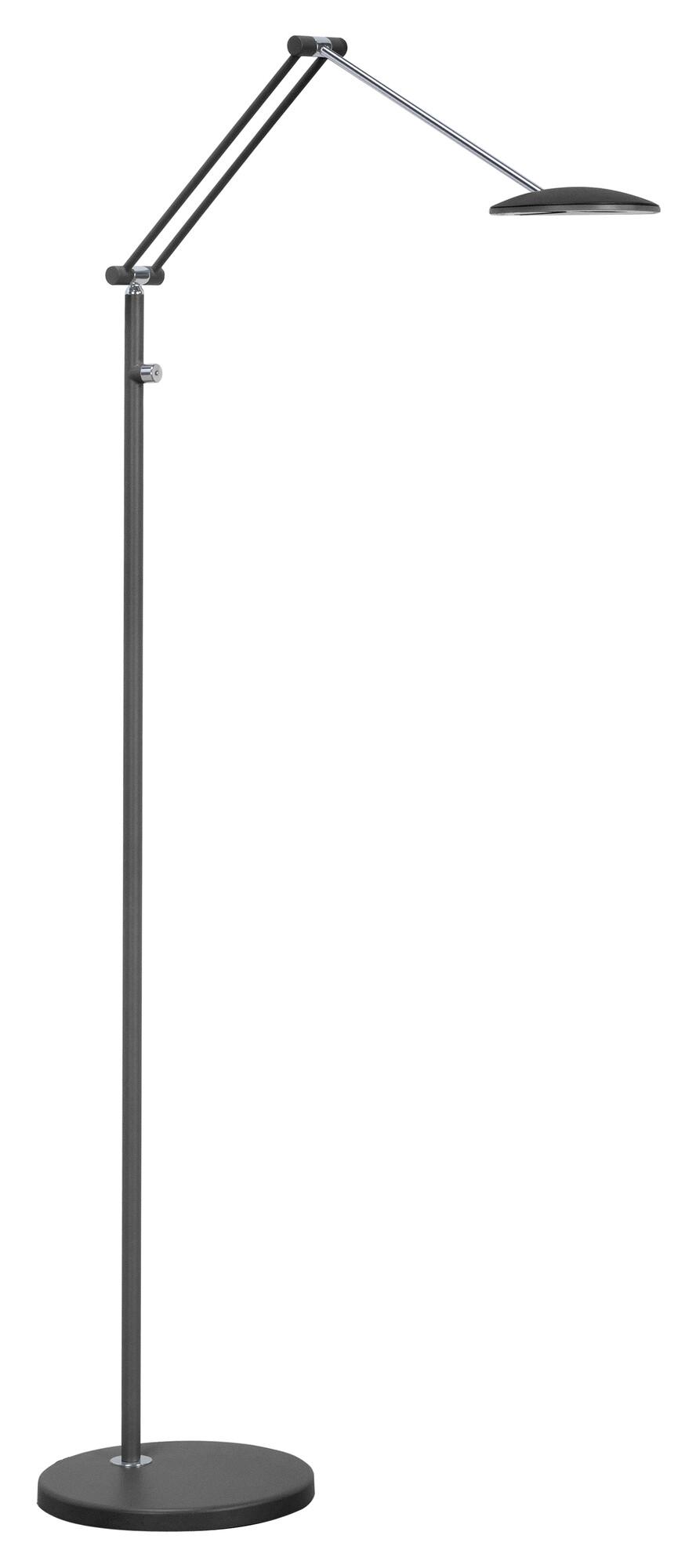 SAPPORO Lampadaire LED 1x10W/700lm Noir