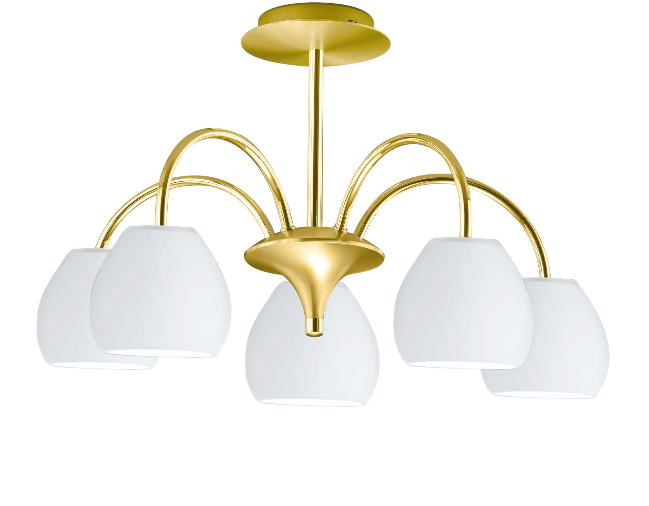 CENTURION Plafondlamp LED 5x Goud