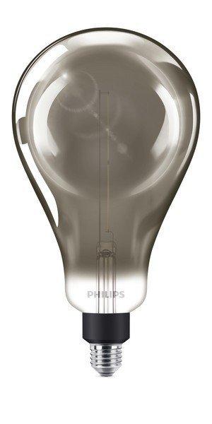 Philips GIANT E27 6,5W 270lm 4000K Globe Gefumeerde coating