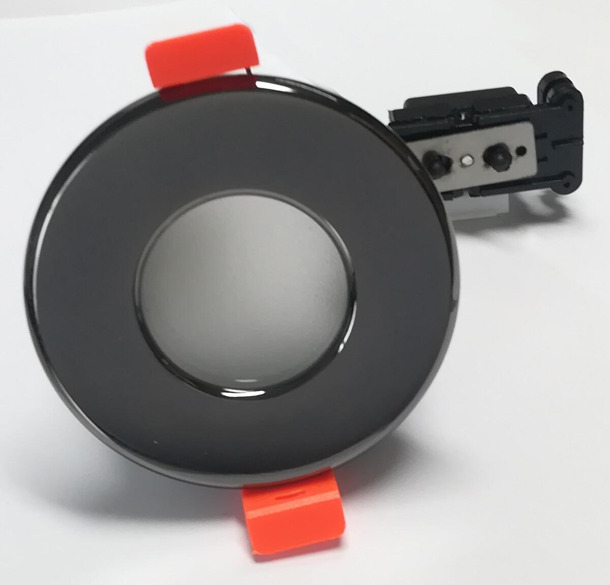 XINO Spot encastré GU10 1x Rond Noir