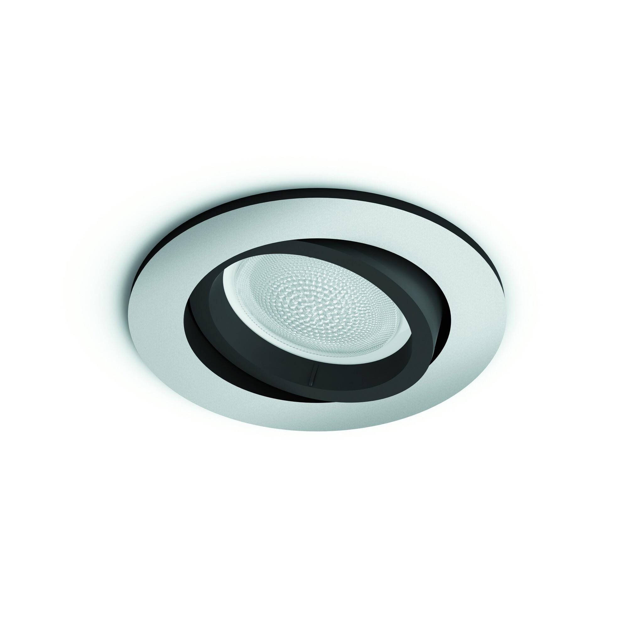 Philips HUE CENTURA Spot encastré LED 1x6W/350lm Rond Argent