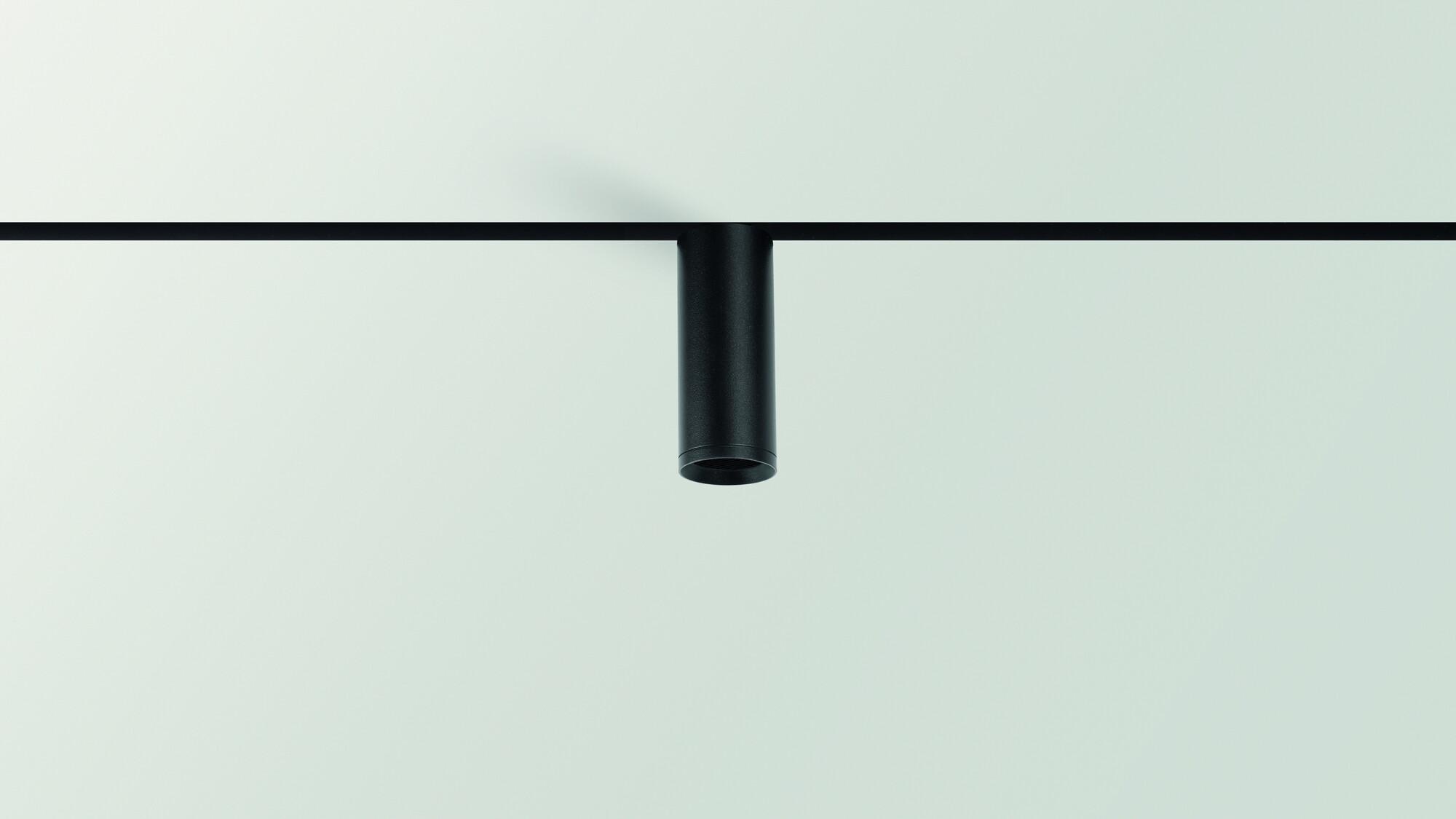 TOP Systeem & profiel LED 1x6,5W/610lm Zwart