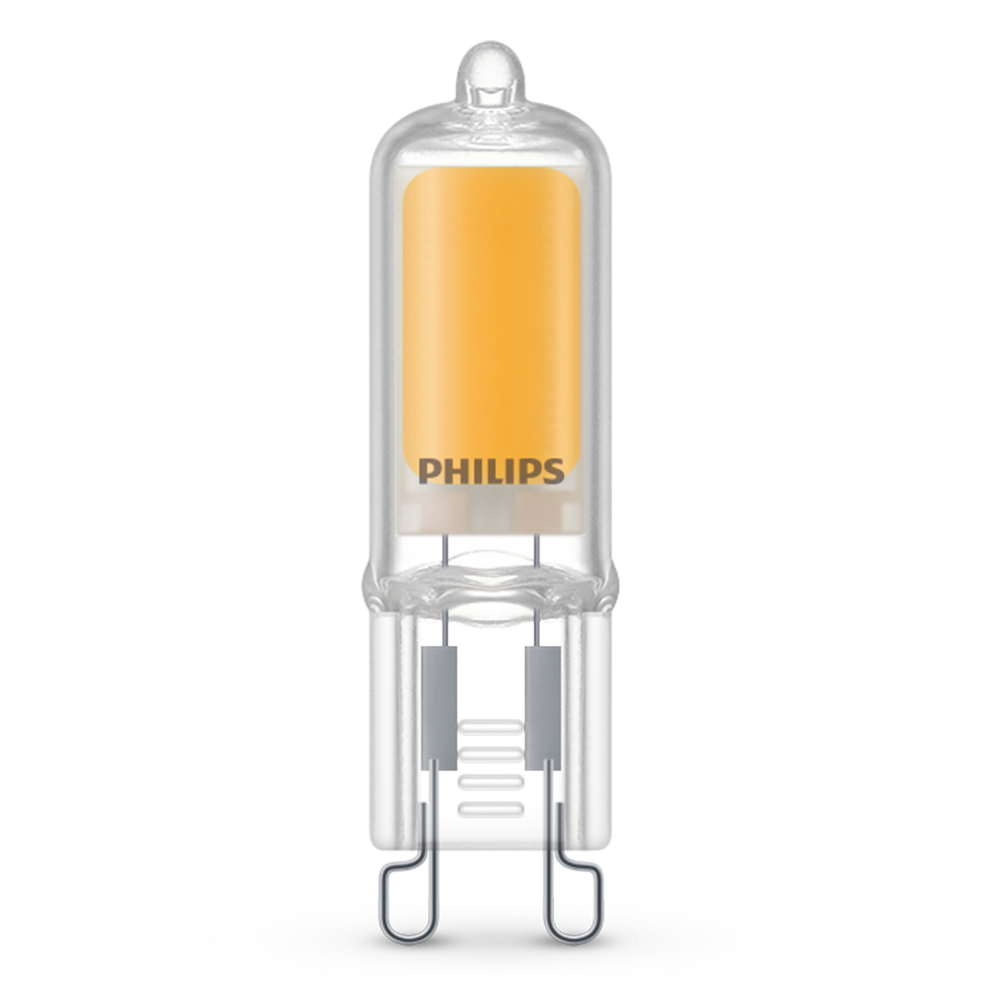 Philips LED classic G9 2W 200lm 2700K Capsule Transparant