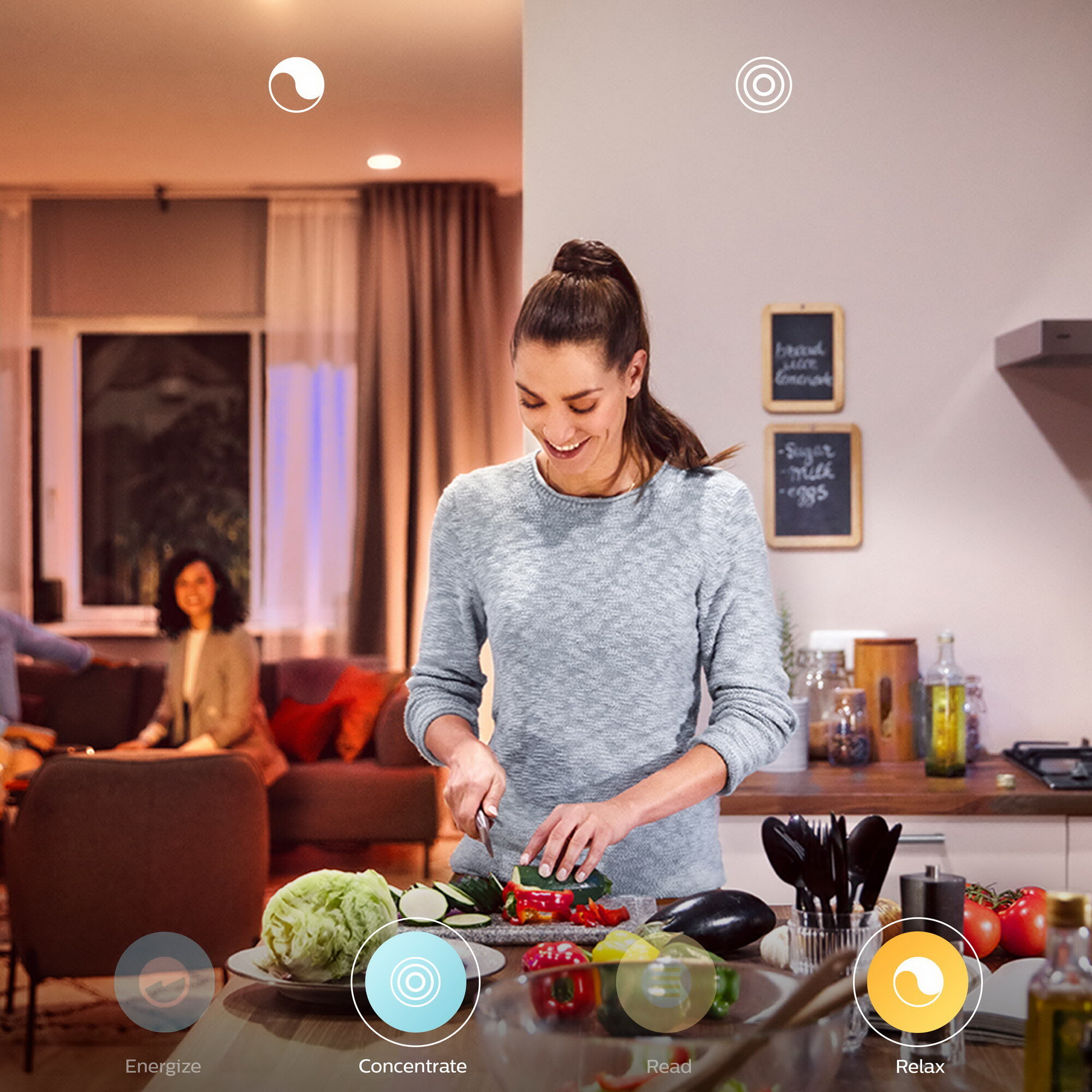 Philips HUE FAIR Hanglamp LED 1x34W/3000lm Wit
