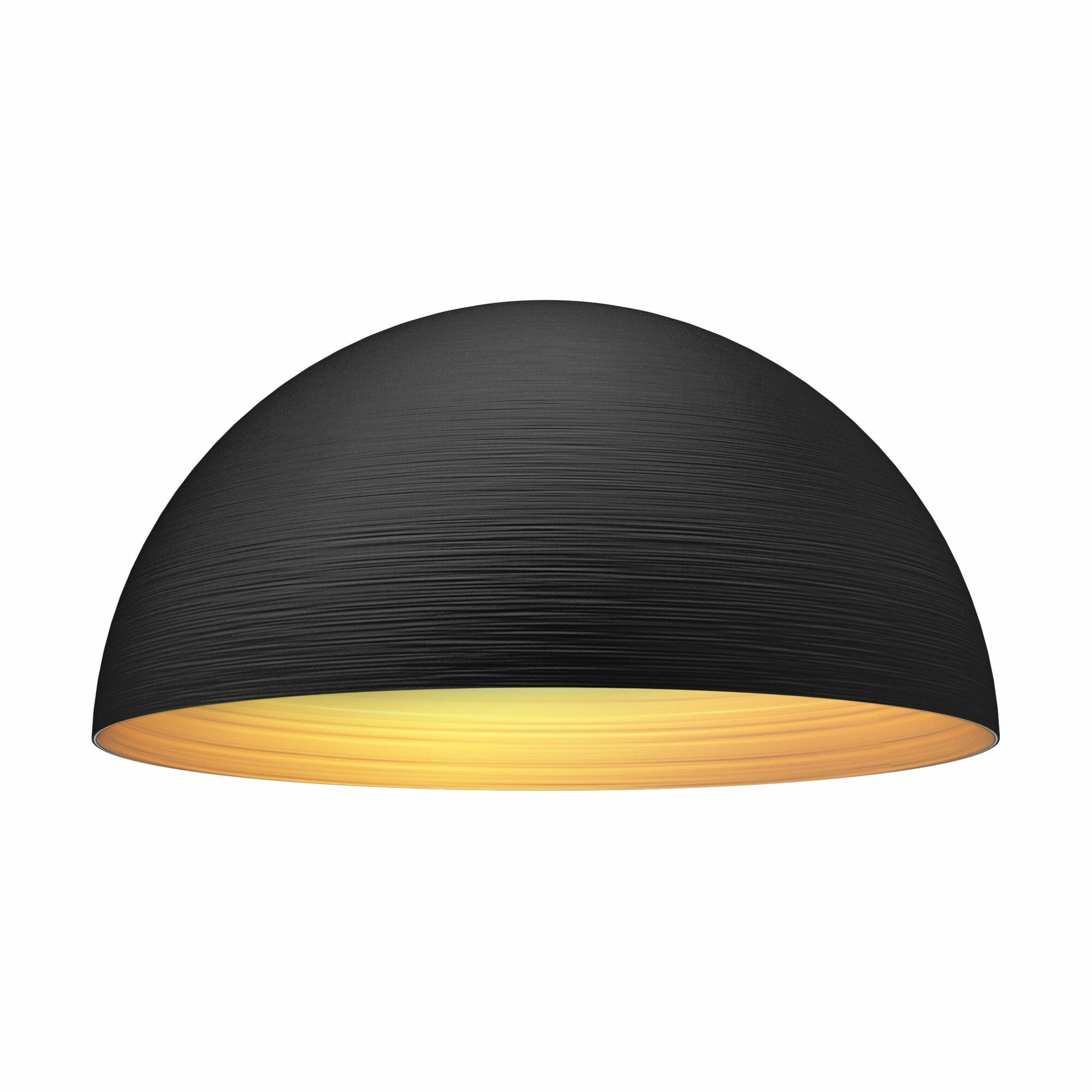 DOME Hanglamp E27 1x Zwart