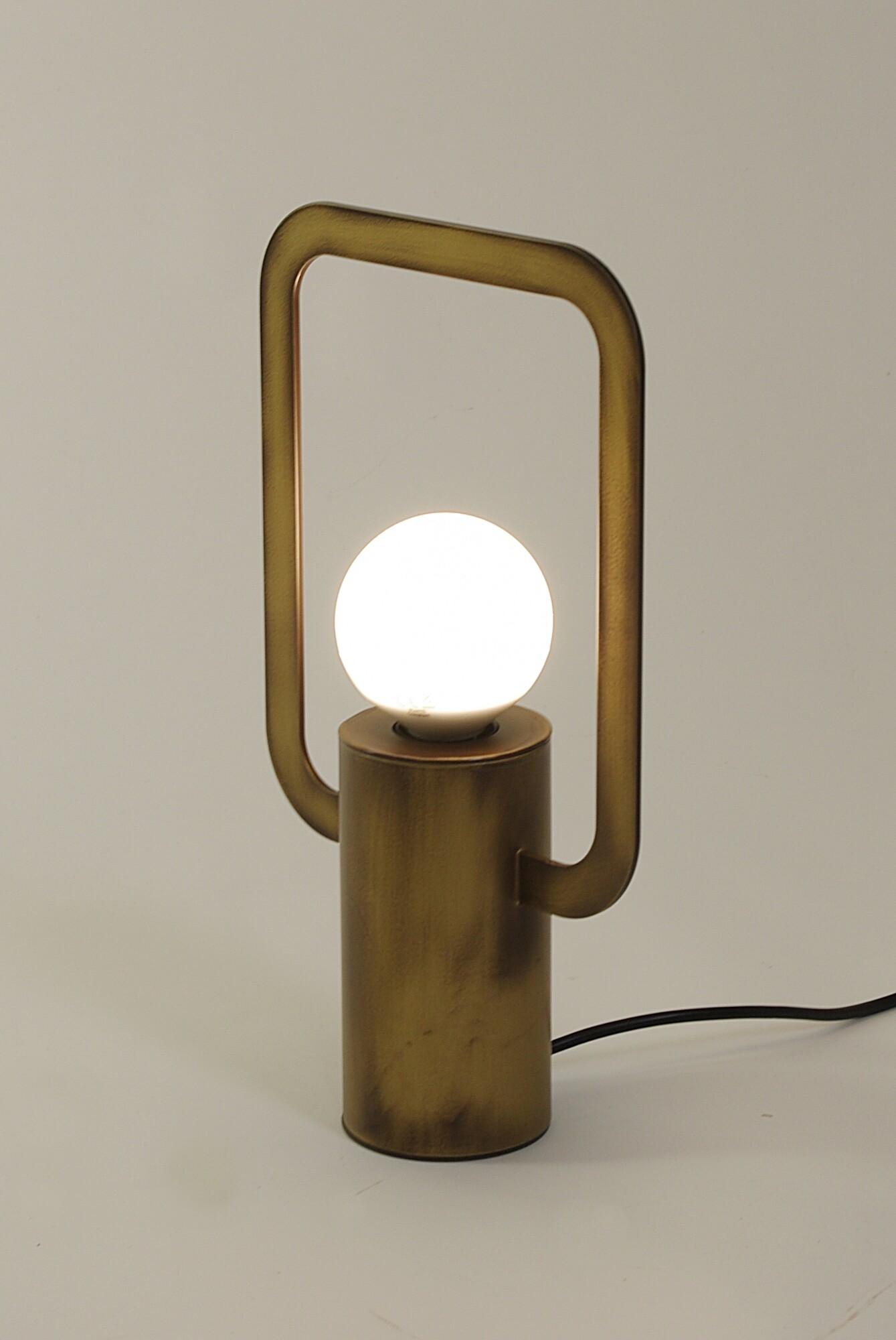 CARTESIO Tafellamp E27 1x Koper