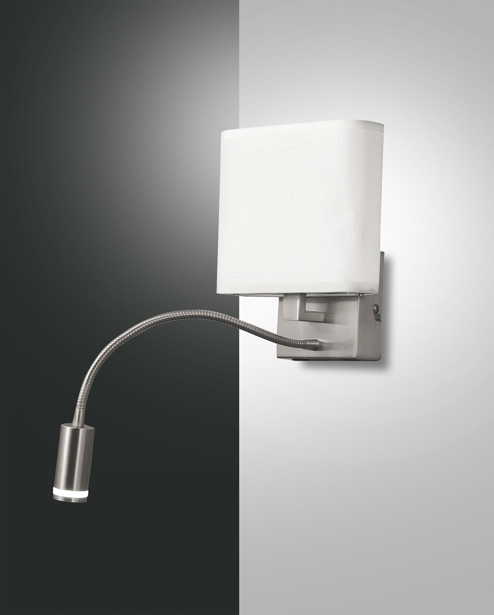 VIETRI Lampe de table LED 2x11W/495lm Argent