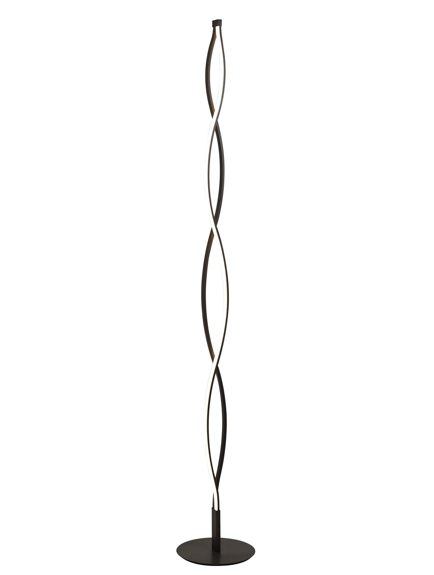 SAHARA Vloerlamp LED 1x28W/2200lm Bruin
