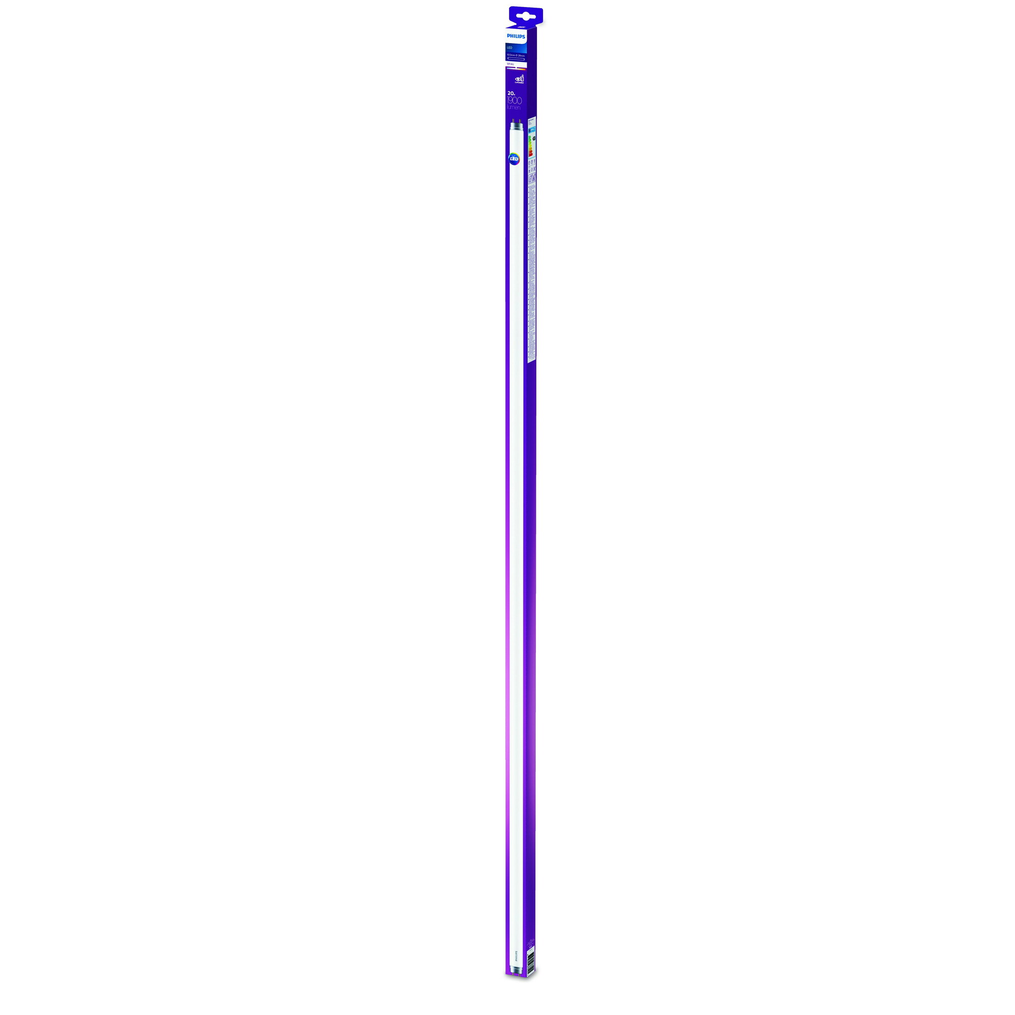 Philips LED T8 G13 20W 1900lm 3000K Tube Frosted