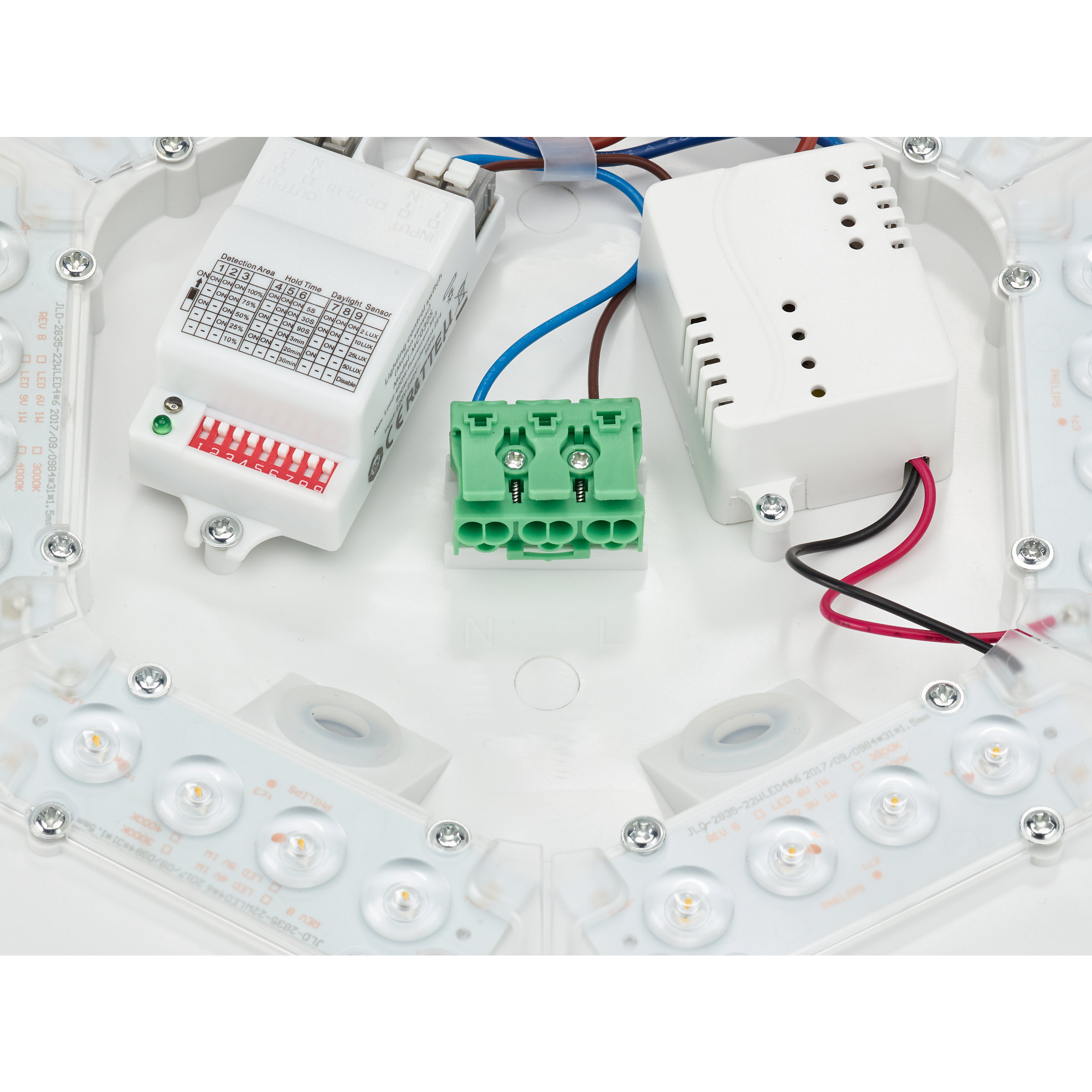 Philips CORELINE Wandlamp LED 1x12W/1200lm Wit