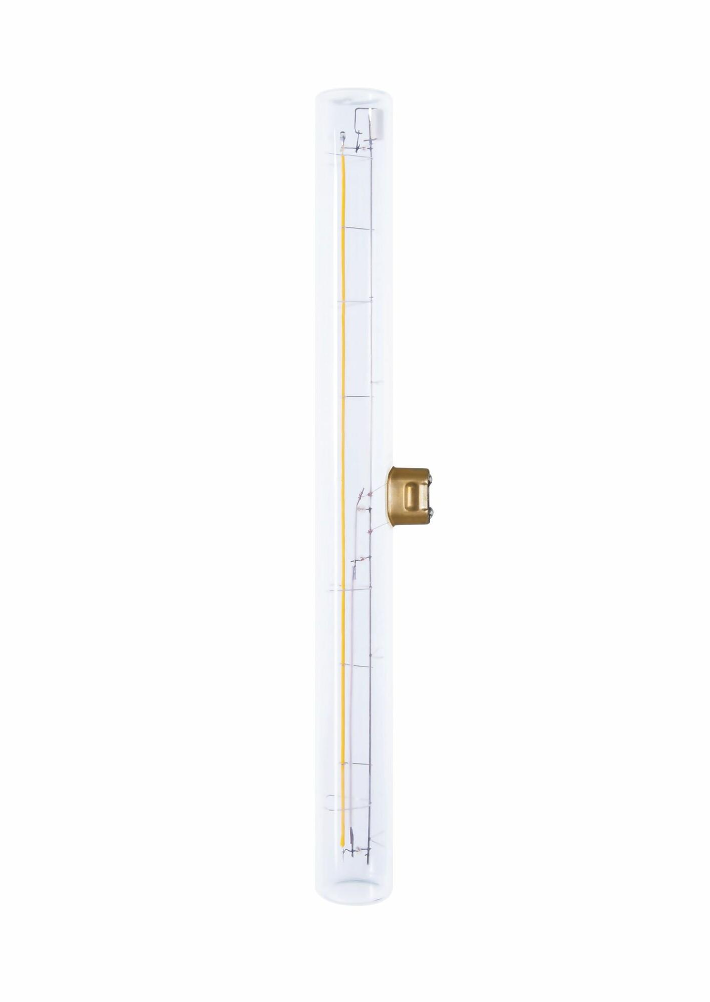 Deco Linear S14D 8W 330lm 2200K Tube Transparant