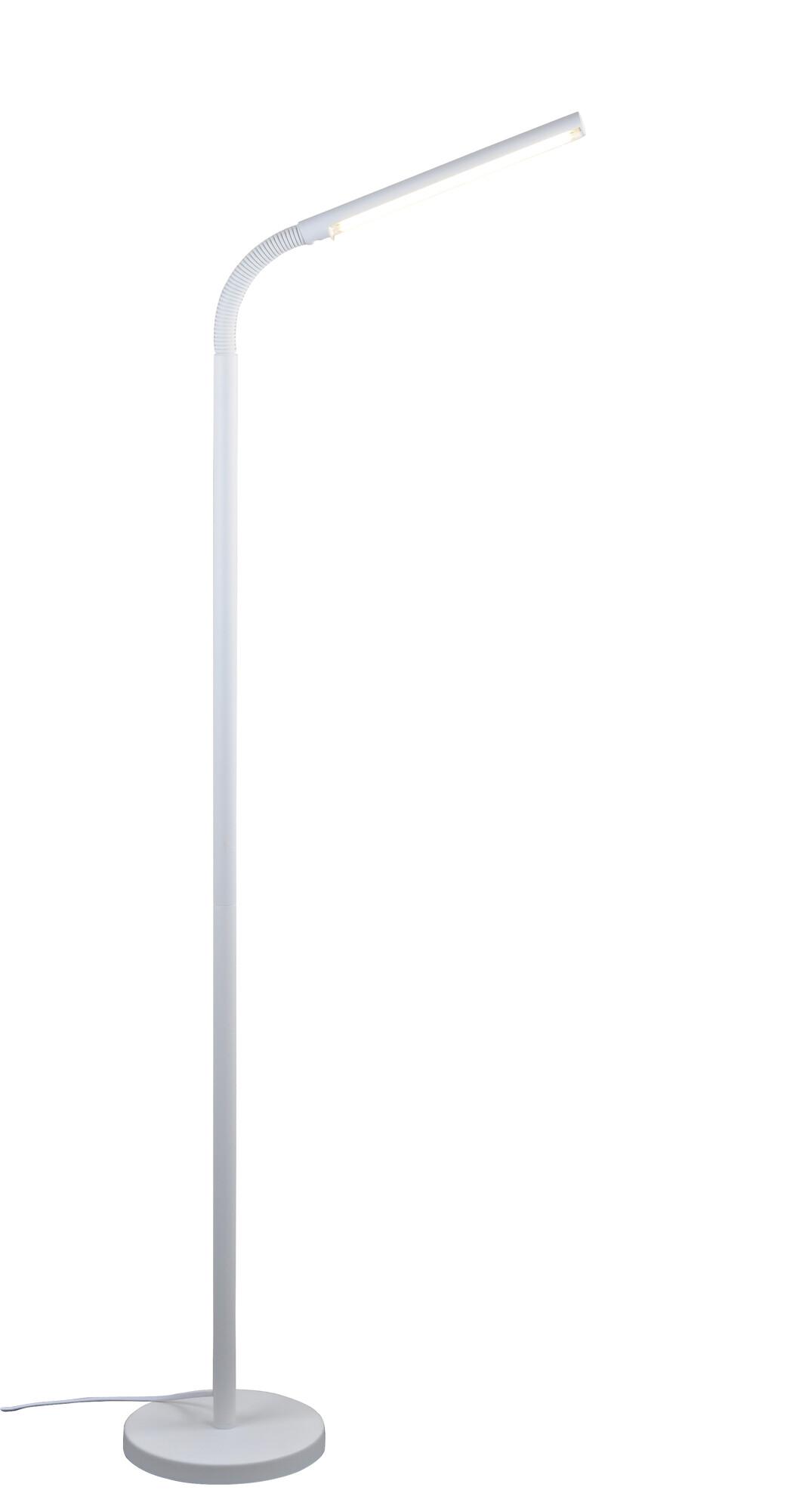 FLEXI Lampadaire LED 1x8W/610lm Blanc