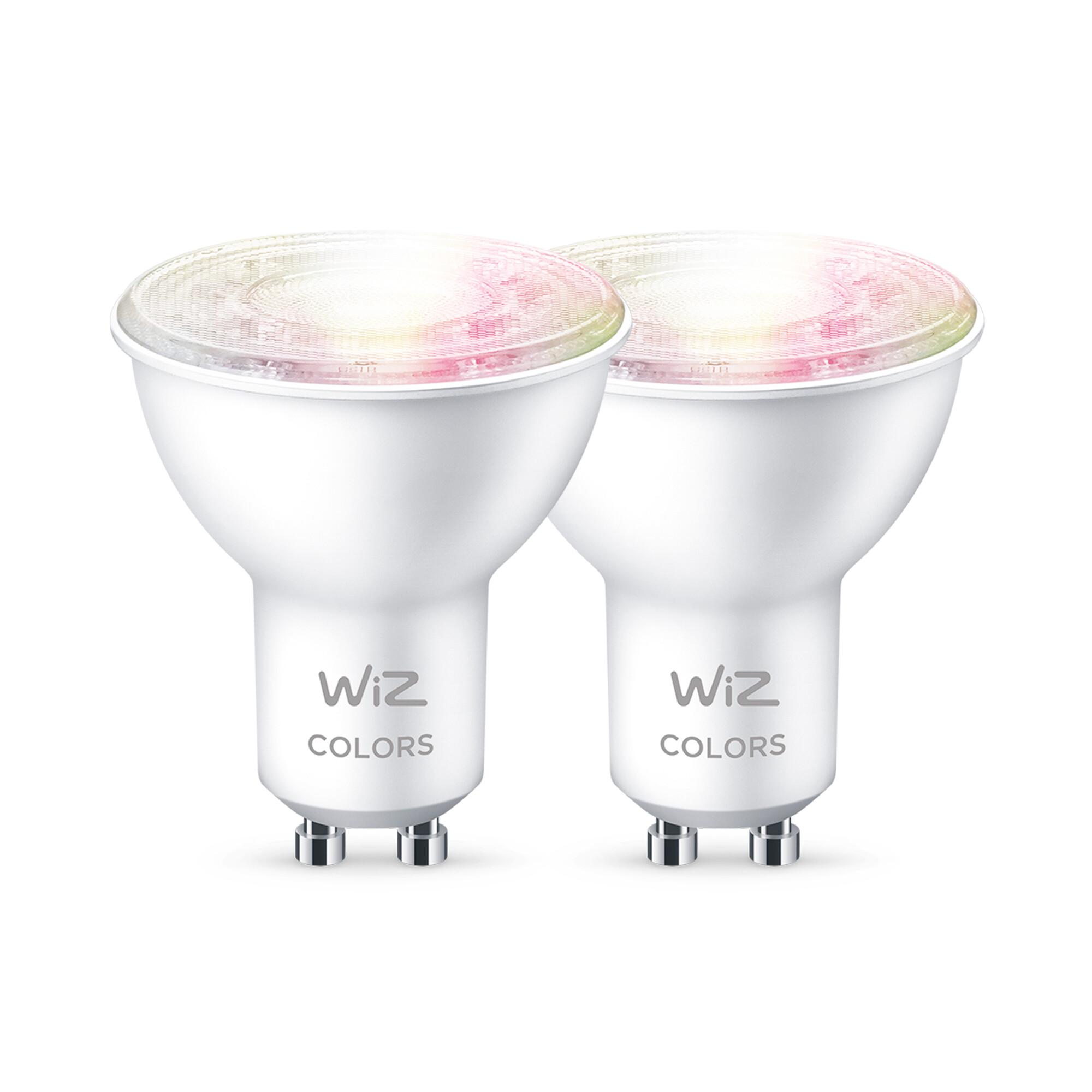 WiZ E27 50W 400lm 2200K-6500K Spot Transparant