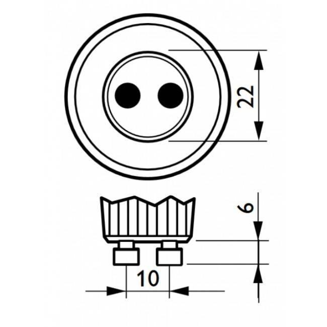 Philips Master LED GU10 5,5W 375lm 3000K Spot Transparant