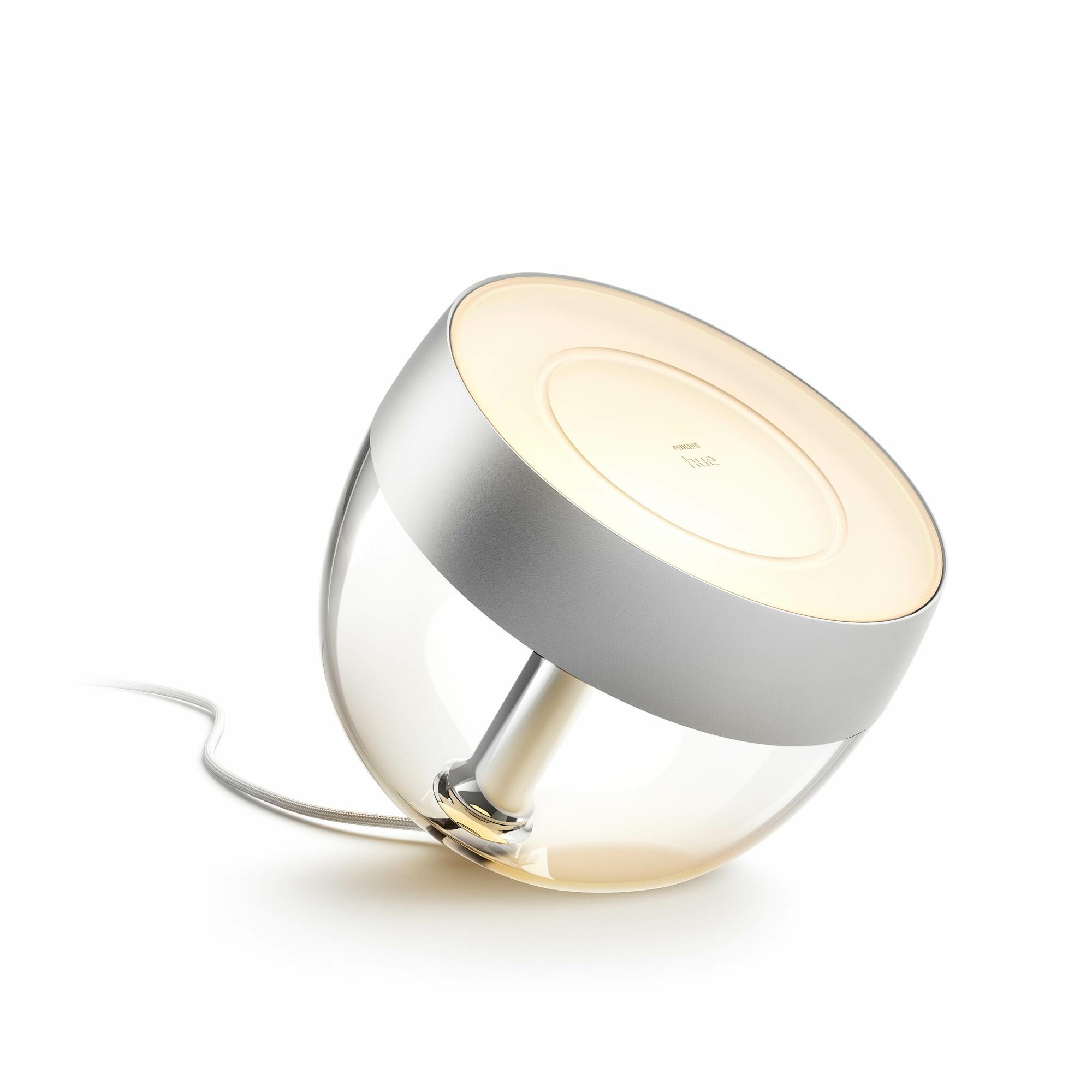 Philips HUE IRIS Lampe de table LED 1x8,1W/570lm Argent