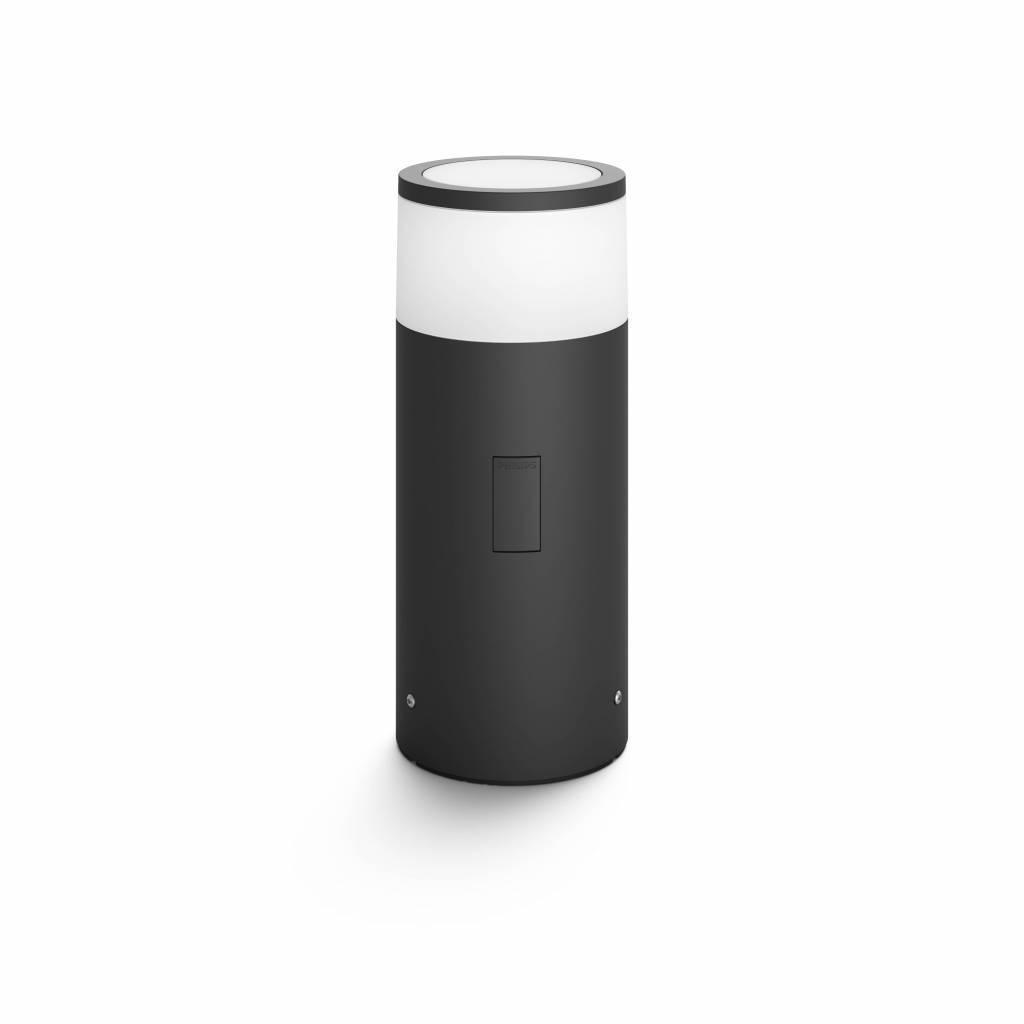 Philips HUE CALLA Poteau extérieur LED 1x8W/640lm Noir