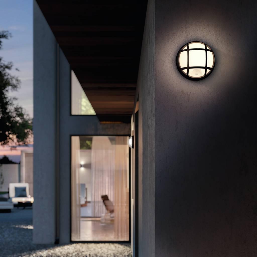 Philips EAGLE Wandlamp LED 1x4W/320lm Zwart