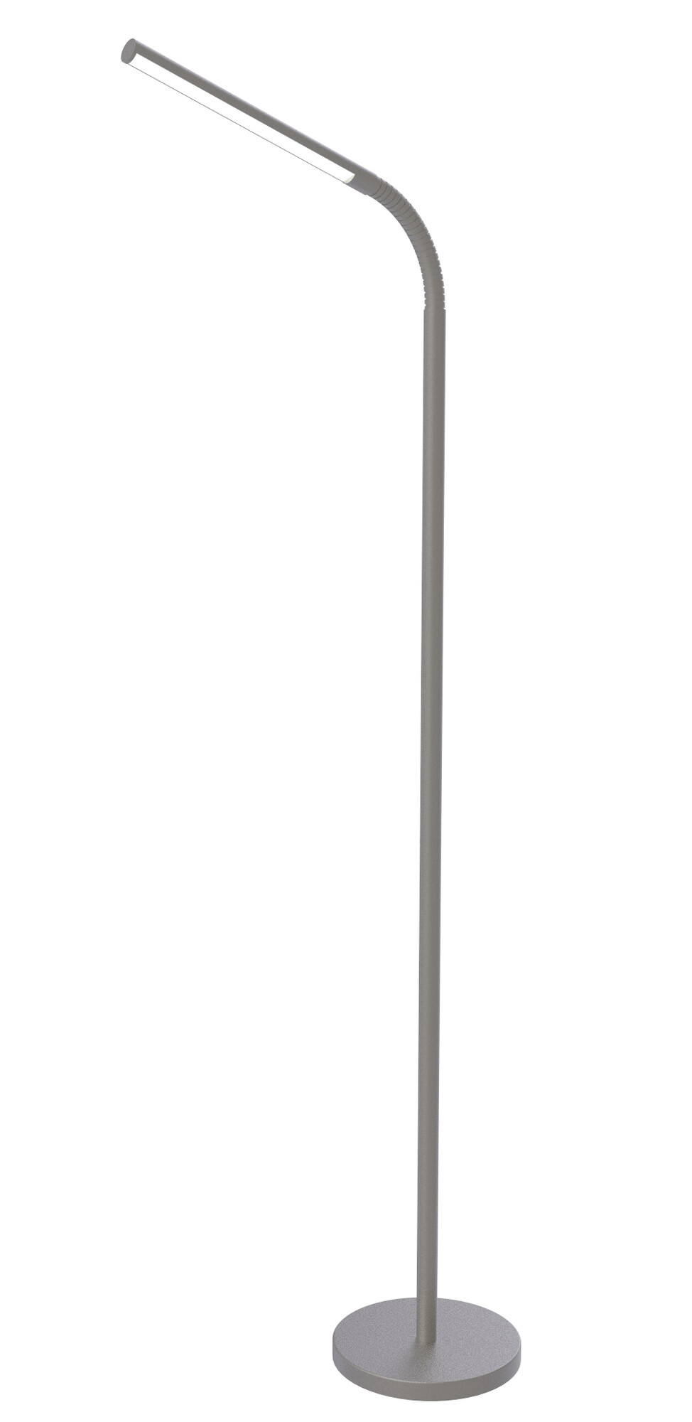 FLEXI Lampadaire LED 1x8W/610lm Argent
