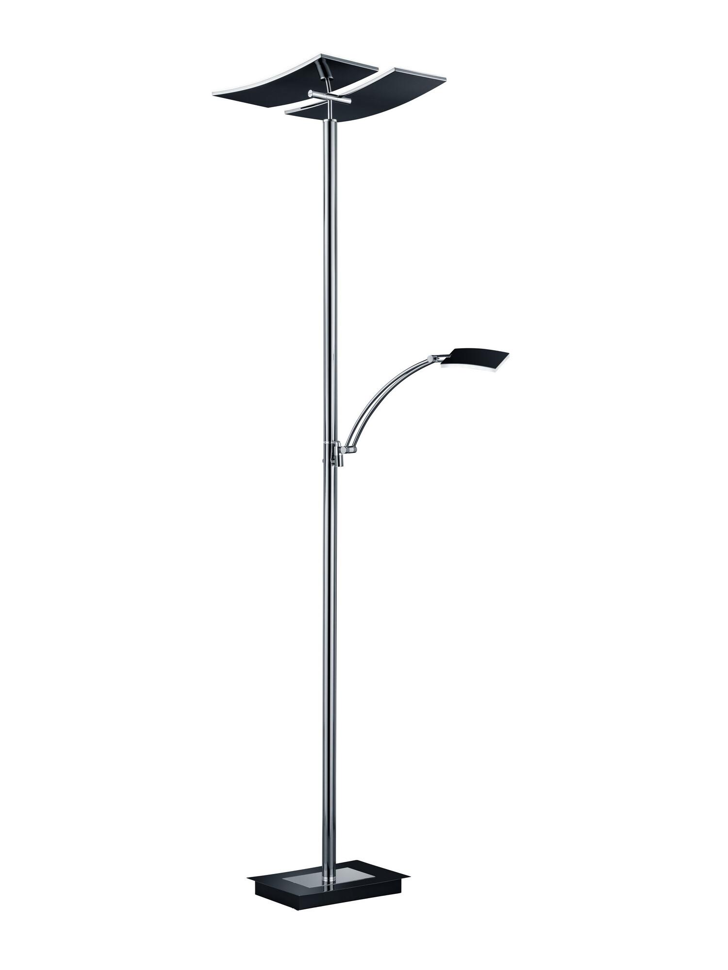 DUO Lampadaire LED 2x30W/3000lm Noir