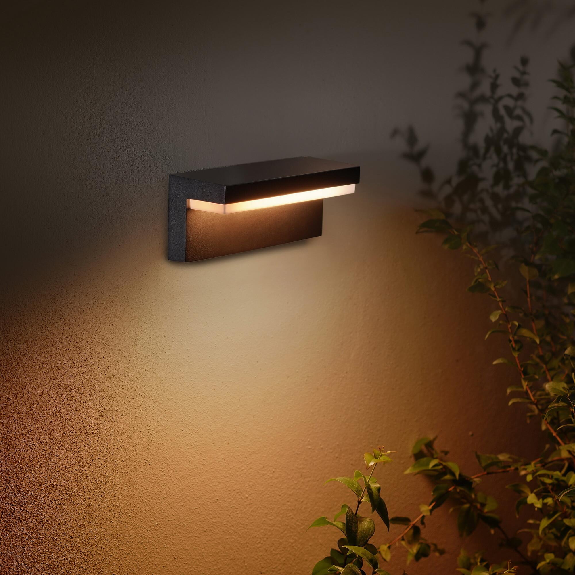Philips HUE NYRO Wandlamp LED 1x13,5W/1000lm Zwart