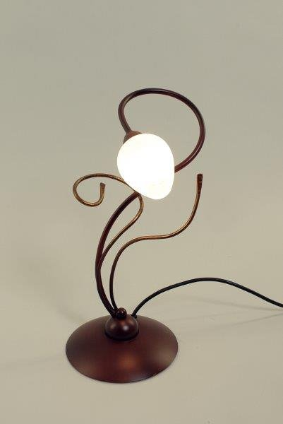 GHIRADA Tafellamp G9 1x Bruin