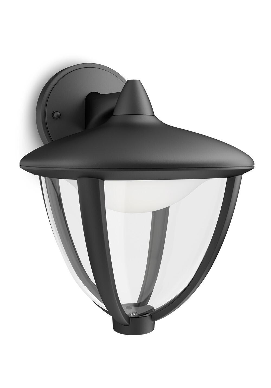 Philips ROBIN Wandlamp 1x6W Zwart
