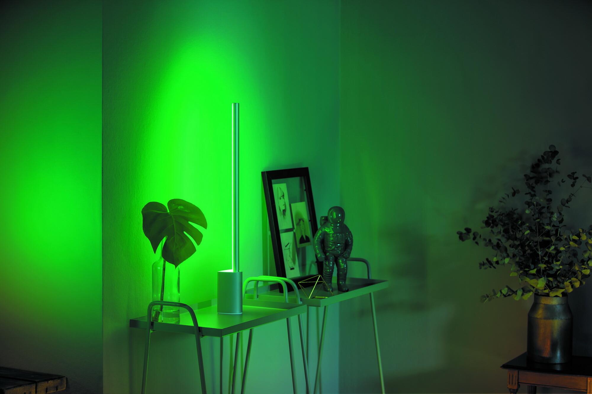 Philips HUE SIGNE Tafellamp LED 1x14W/1000lm Lichtgrijs