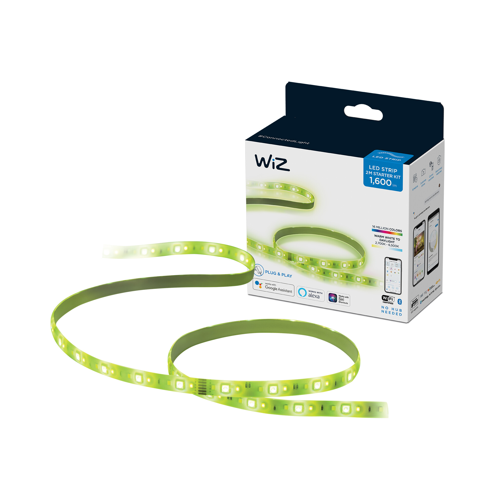 WiZ LED Light strip indoor 1x20W Wit