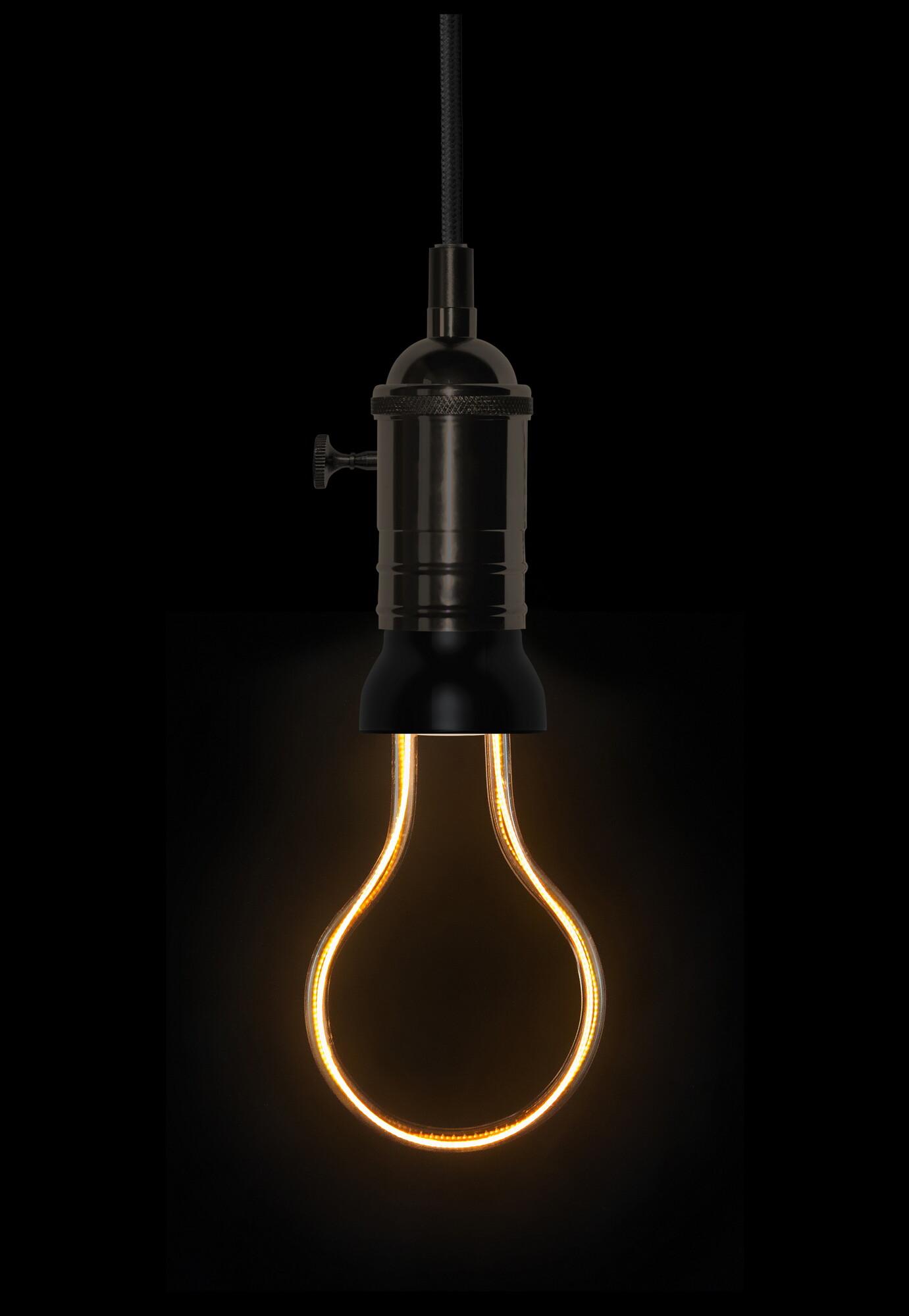 Art Line E27 8W 300lm 2200K Lamp Transparant