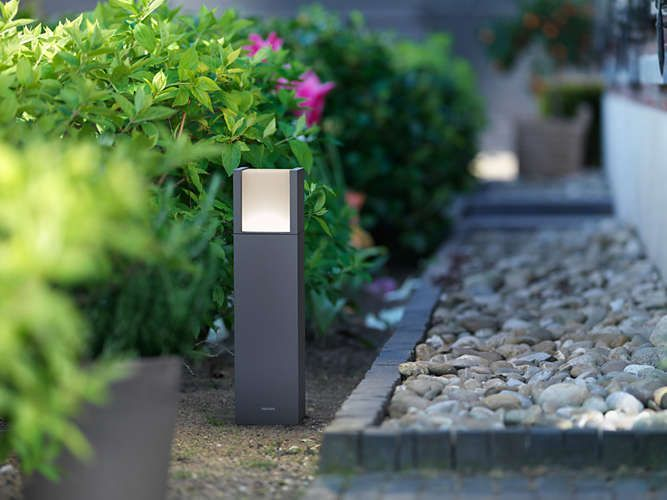 Philips ARBOUR Tuinpaal LED 1x7W/600lm Antraciet