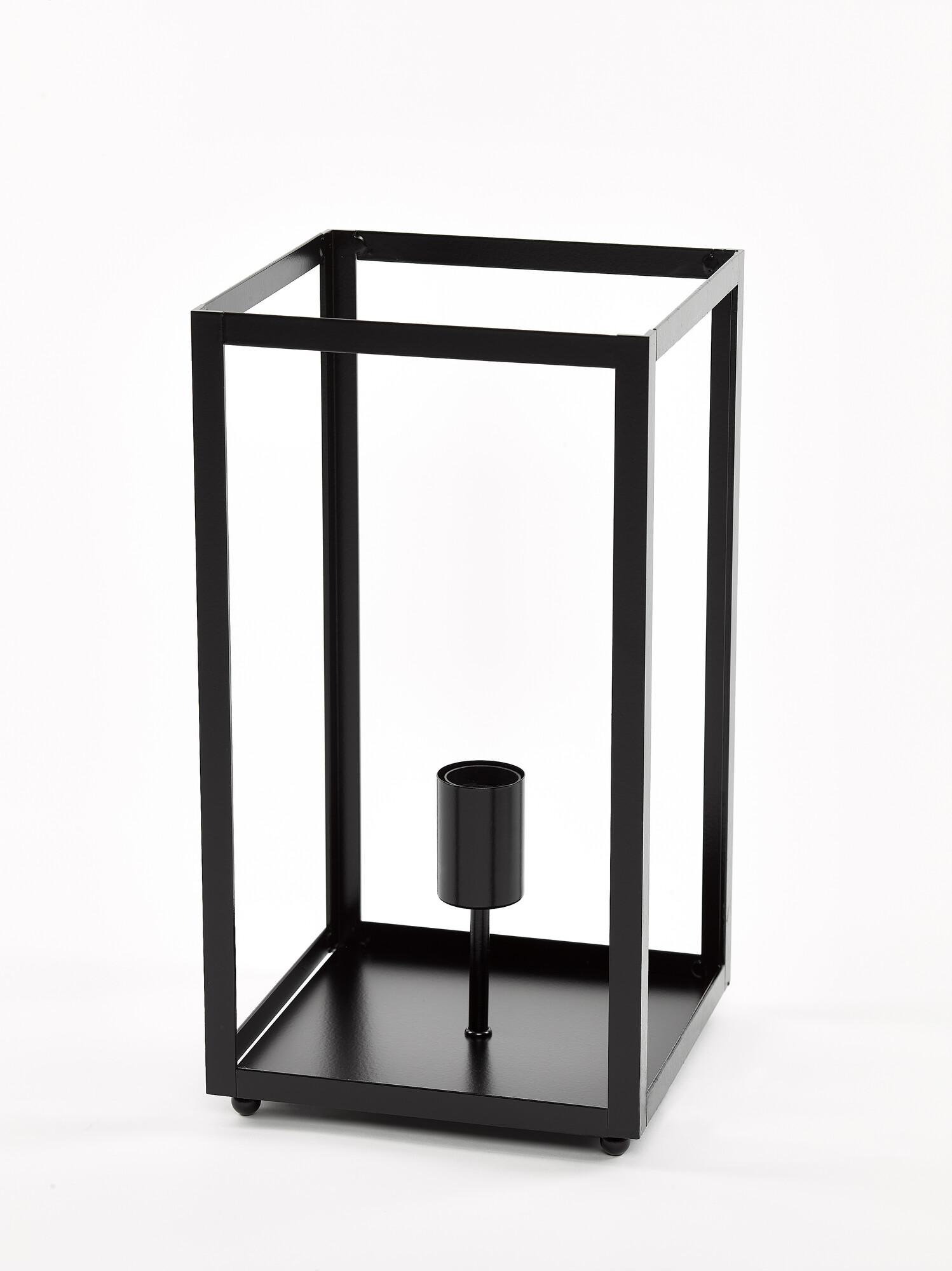 QUADRO2 Tafellamp E27 1x Zwart