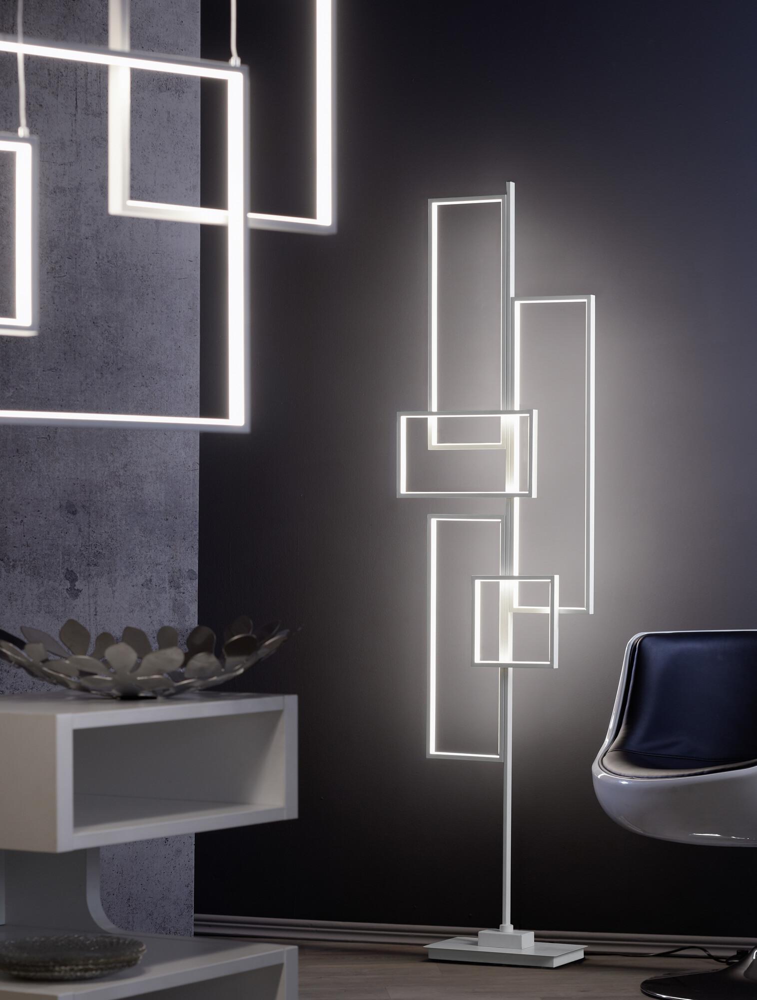 TUSCON Vloerlamp LED 1x50W/4000lm Wit