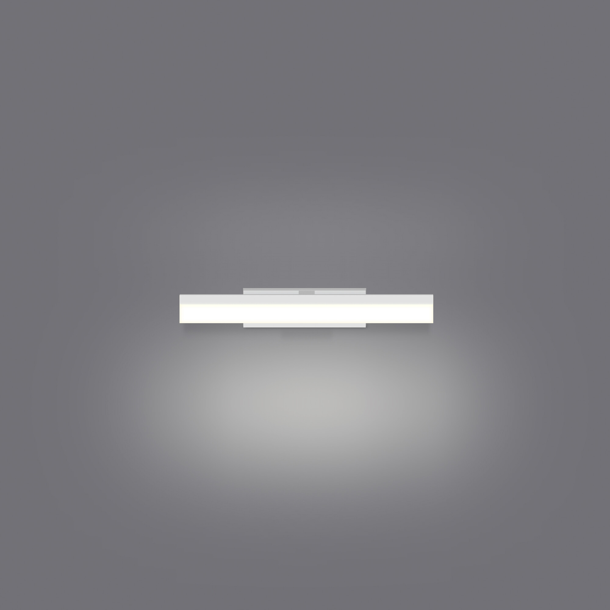 DECADE Wandlamp LED 1x7W/560lm Rechthoekig Wit
